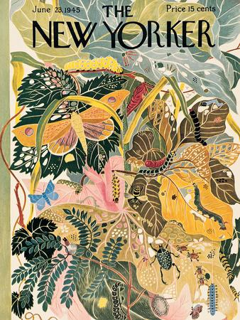 The New Yorker Cover - June 23, 1945