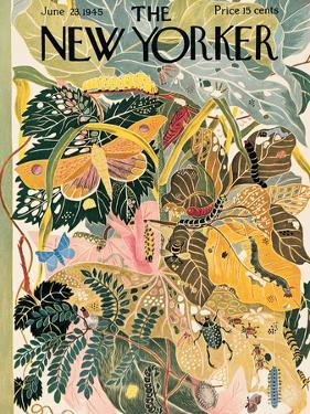 The New Yorker Cover - June 23, 1945 by Ilonka Karasz