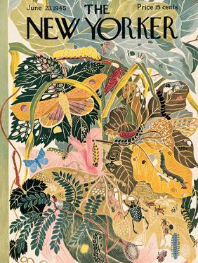 The New Yorker Cover - June 23, 1945 by Ilonka Karasz