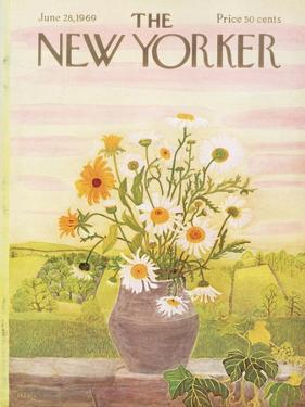 The New Yorker Cover - June 28, 1969 by Ilonka Karasz