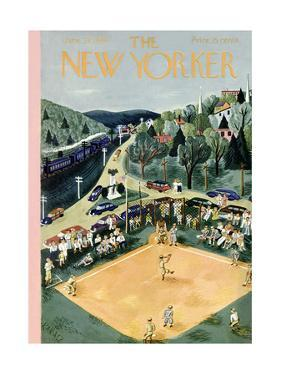The New Yorker Cover - June 29, 1946 by Ilonka Karasz