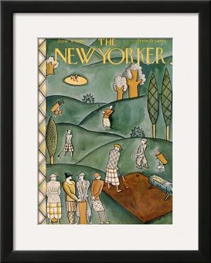 The New Yorker Cover - June 9, 1928 by Ilonka Karasz