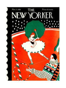 The New Yorker Cover - March 27, 1926 by Ilonka Karasz