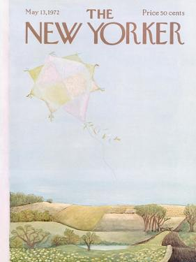 The New Yorker Cover - May 13, 1972 by Ilonka Karasz