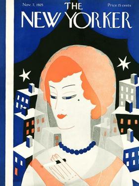The New Yorker Cover - November 7, 1925 by Ilonka Karasz