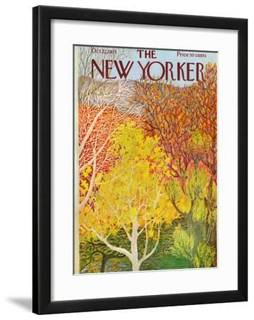 The New Yorker Cover - October 22, 1973 by Ilonka Karasz