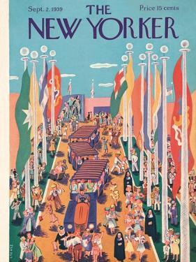 The New Yorker Cover - September 2, 1939 by Ilonka Karasz