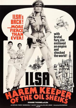Ilsa, Harem Keeper of the Oil Sheiks, Dyanne Thorne, 1976