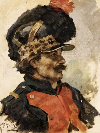 A French Soldier, 1876