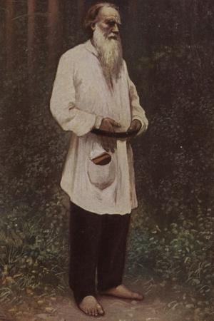 Leo Tolstoy (1828-1910), Russian Novelist, Short Story Writer and Playwright, 1901