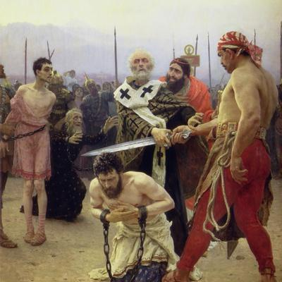 St. Nicholas Delivers Three Unjustly Condemned Men from Death, 1888