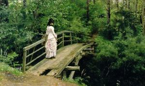 Summer Landscape, 1879 by Ilya Efimovich Repin