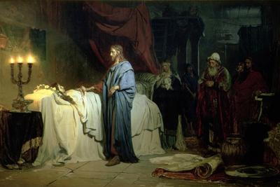 The Raising of Jairus's Daughter, 1871