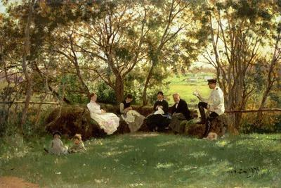 The Turf Bench, 1876