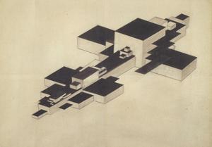 Design for Supremolet (Suprematist Plan) by Ilya Grigoryevich Chashnik
