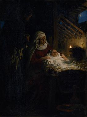 Nativity, 1890 by Ilya Yefimovich Repin