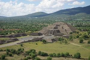 Teotihuacan by Image by Jean-Marie Prival