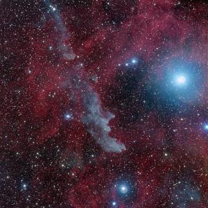 Witch Head Nebula (Ic2118) by Image by Marco Lorenzi www.glitteringlights.com