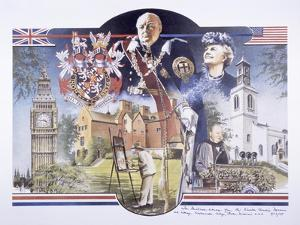 Images Relating to Winston Churchill Memorial Library, St Mary Aldermanbury, London, 1989