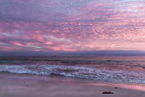 Beautiful Pink Coastal Sunset over the Indian Ocean W Australia by Imagevixen