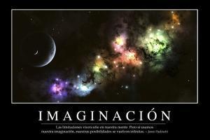 Imaginación. Cita Inspiradora Y Póster Motivacional