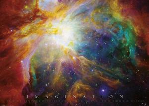 Imagination Nebula - Albert Einstein Quote