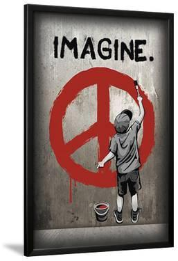 Imagine Peace Graffiti