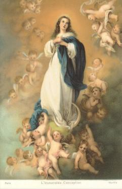 Immaculate Conception by Murillo, Paris