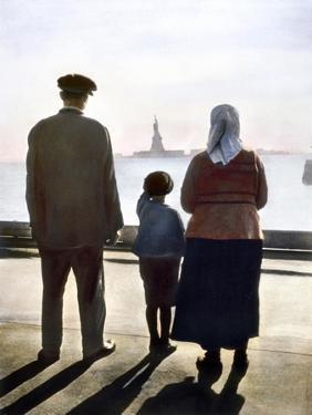 Immigrants: Ellis Island