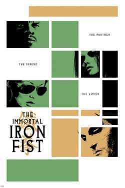 Immortal Iron Fist No.16 Cover: Cage, Luke and Iron Fist