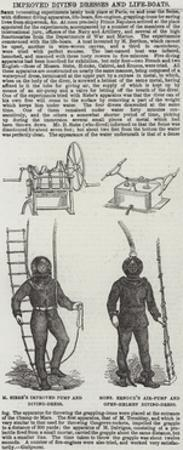 Improved Diving Dresses and Life-Boats