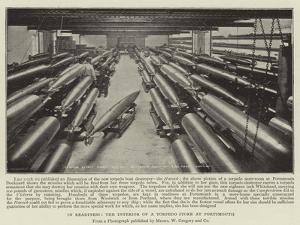 In Readiness, the Interior of a Torpedo Store at Portsmouth
