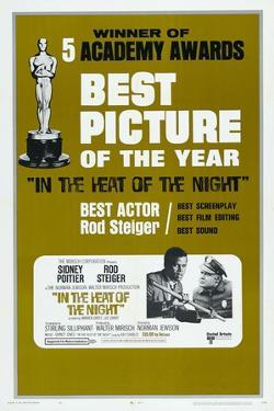 In the Heat of the Night, US poster, Sidney Poitier, Rod Steiger, 1967