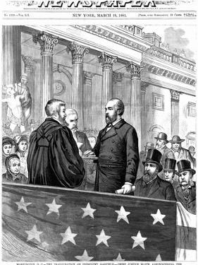 Inauguration of President Garfield