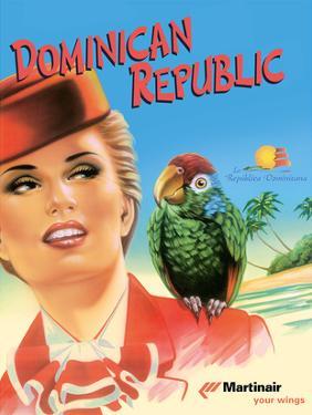 Dominican Republic - Martinair by Inc^ Pacifica Island Art
