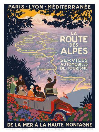 The Alpine Route - Services Automobiles de Tourisme (Automobiles Tourism Services)