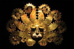 Inca Sun God Mask