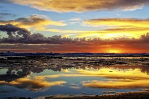 Sunday Sunset by Incredi