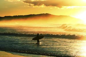 Sunrise Surf by Incredi