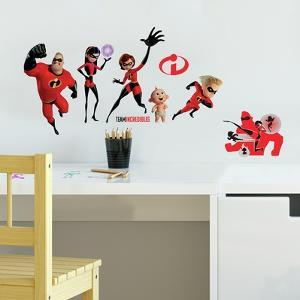Incredibles 2 Peel And Stick Wall Decals