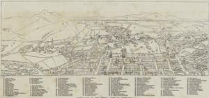 Index Plan of the General View of Edinburgh