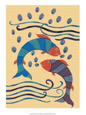India Folk Art, Fish