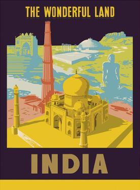 India - The Wonderful Land - Taj Mahal