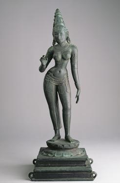 Parvati, Consort of Siva, Indian, 13th Century (Bronze) by Indian