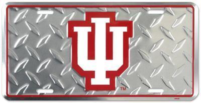 Indiana Hoosiers Diamond License Plate