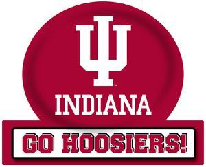 Indiana Hoosiers Jumbo Tailgate Peel & Stick