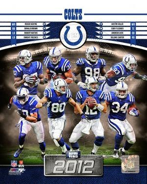 Indianapolis Colts 2012 Team Composite