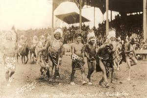 Indians in Wild West Show