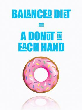 Donut Diet by Indigo Sage Design