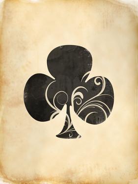 Playing Card Clubs by Indigo Sage Design